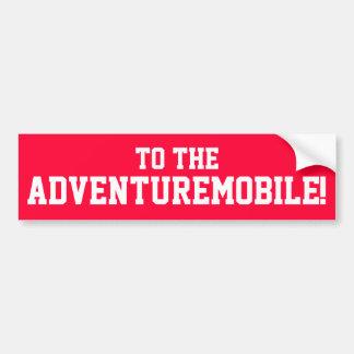 Adesivo Para Carro Ao Adventuremobile! Autocolante no vidro traseiro