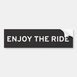 Adesivo Para Carro Aprecie o autocolante no vidro traseiro do passeio