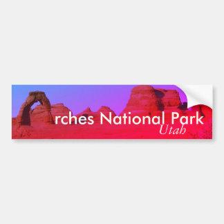 Adesivo Para Carro Arcos parque nacional, Utá