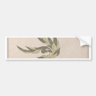 Adesivo Para Carro Arranjo de flor - Utagawa Itchinsai