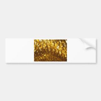 Adesivo Para Carro Arte abstracta do teto do ouro