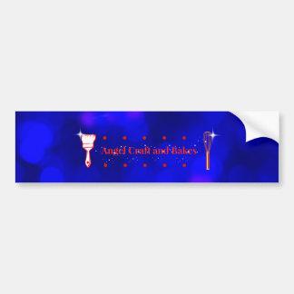 Adesivo Para Carro Artesanato do anjo e autocolante no vidro traseiro