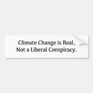 Adesivo Para Carro As alterações climáticas são reais, não uma