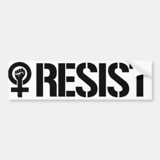 Adesivo Para Carro As feministas resistem - resista agora - a rua