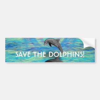 Adesivo Para Carro Ascensão do golfinho