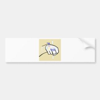 Adesivo Para Carro ASL oh SIM