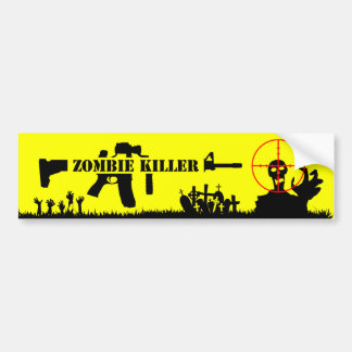 Adesivo Para Carro Assassino do zombi