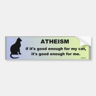 Adesivo Para Carro ateísmo