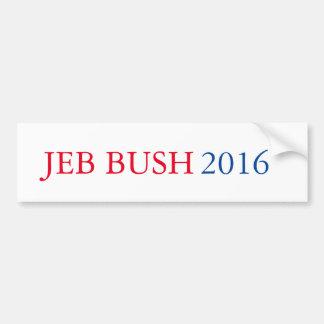 Adesivo Para Carro Autocolante no vidro traseiro 2016 de Jeb Bush