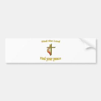 Adesivo Para Carro Autocolante no vidro traseiro cristão