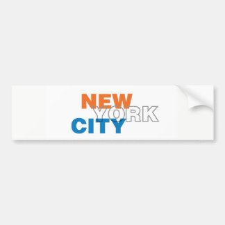 Adesivo Para Carro Autocolante no vidro traseiro da Nova Iorque