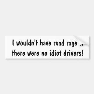 Adesivo Para Carro Autocolante no vidro traseiro da raiva da