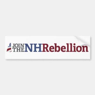 Adesivo Para Carro Autocolante no vidro traseiro da rebelião do NH