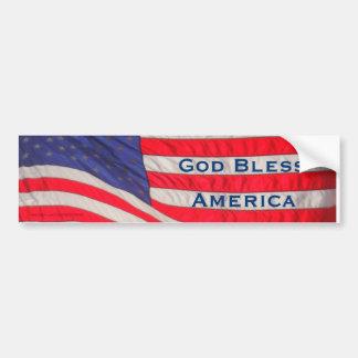 Adesivo Para Carro Autocolante no vidro traseiro de América dos deus
