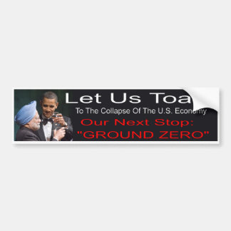 Adesivo Para Carro Autocolante no vidro traseiro de Anti-Obama