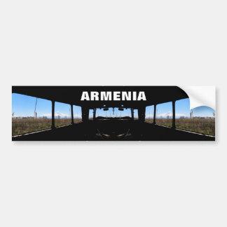 Adesivo Para Carro Autocolante no vidro traseiro de Arménia