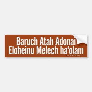 Adesivo Para Carro Autocolante no vidro traseiro de Baruch Atah (bran