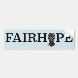 Adesivo Para Carro Autocolante no vidro traseiro de Fairhope -