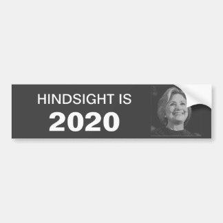 Adesivo Para Carro Autocolante no vidro traseiro de Hillary em 2020