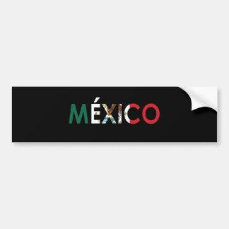 Adesivo Para Carro Autocolante no vidro traseiro de México