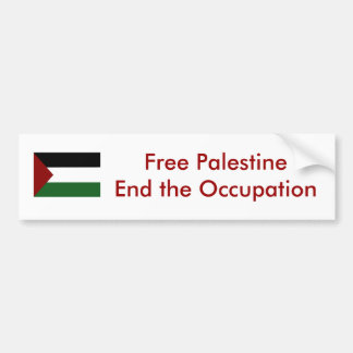 Adesivo Para Carro Autocolante no vidro traseiro de Palestina