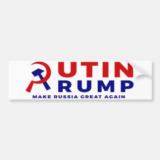 Adesivo Para Carro Autocolante no vidro traseiro de Putin/trunfo