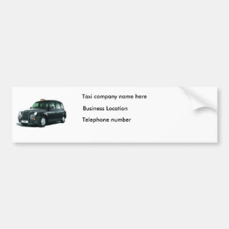 Adesivo Para Carro Autocolante no vidro traseiro de Táxi Empresa