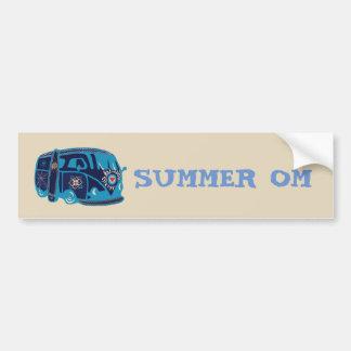 Adesivo Para Carro Autocolante no vidro traseiro de Van do Hippie do