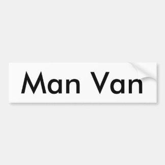Adesivo Para Carro Autocolante no vidro traseiro de Van do homem