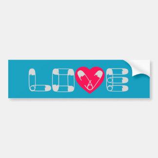 Adesivo Para Carro Autocolante no vidro traseiro do amor