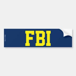 Adesivo Para Carro Autocolante no vidro traseiro do FBI