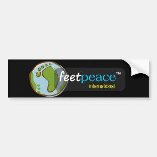 Adesivo Para Carro autocolante no vidro traseiro do feetpeace™