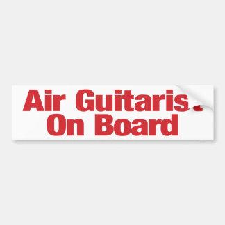 Adesivo Para Carro Autocolante no vidro traseiro do guitarrista do ar