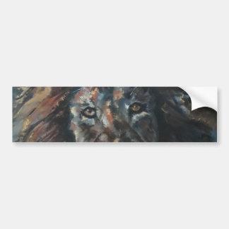 Adesivo Para Carro Autocolante no vidro traseiro do leão
