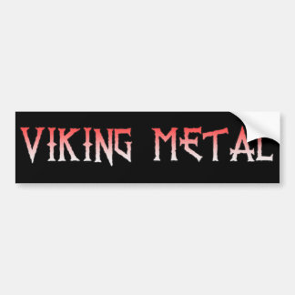 Adesivo Para Carro Autocolante no vidro traseiro do metal de Viking