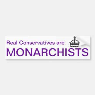 Adesivo Para Carro Autocolante no vidro traseiro do Monarchist