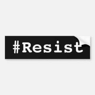 Adesivo Para Carro autocolante no vidro traseiro do #Resist