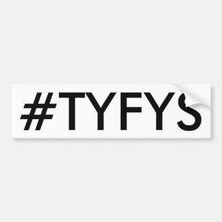 Adesivo Para Carro Autocolante no vidro traseiro do #TYFYS