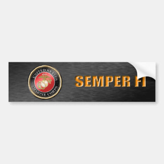 Adesivo Para Carro Autocolante no vidro traseiro do USMC Semper Fi