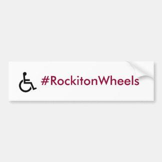 Adesivo Para Carro Autocolante no vidro traseiro dos #RockitonWheels