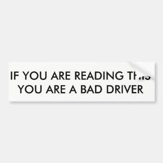 Adesivo Para Carro autocolante no vidro traseiro engraçado