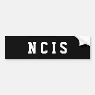 Adesivo Para Carro Autocolante no vidro traseiro NCIS pelo