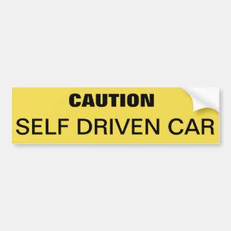 Adesivo Para Carro Autocolante no vidro traseiro para advertir o