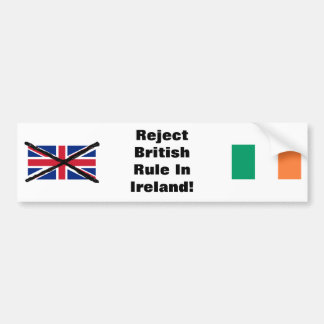 Adesivo Para Carro Autocolante no vidro traseiro republicano irlandês
