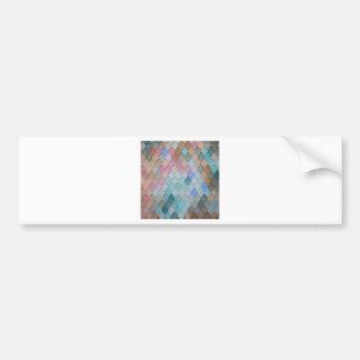 Adesivo Para Carro Azulejos de telhado coloridos - PaintingZ