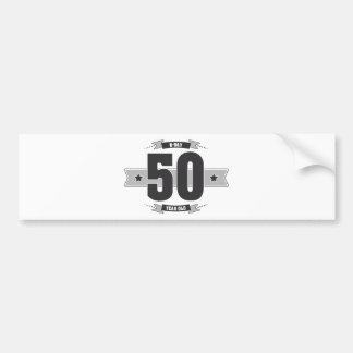 Adesivo Para Carro B-dia 50 (Dark&Lightgrey)