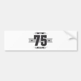 Adesivo Para Carro B-dia 75 (Dark&Lightgrey)