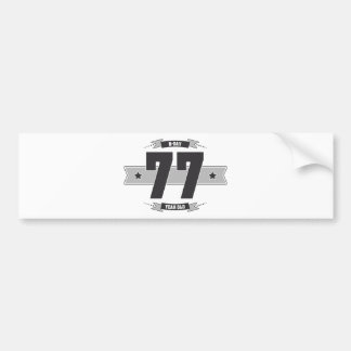 Adesivo Para Carro B-dia 77 (Dark&Lightgrey)