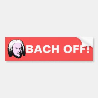 Adesivo Para Carro Bach fora