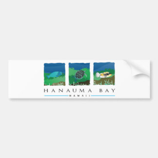 Adesivo Para Carro Baía de Havaí Hanauma